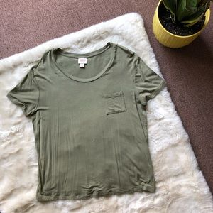 Mossimo Green T-shirt